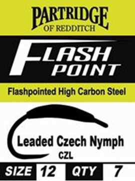 Bild på Partridge Flashpoint Czech Nymf Leaded (7 pack)