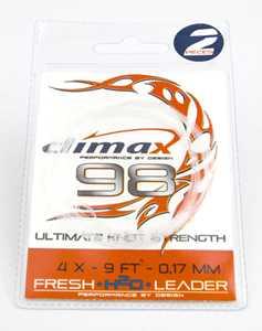 Bild på Climax Freshwater H2O - 9 fot (2-pack) 7X (0,10mm)