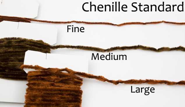 Bild på Standard Chenille Fine (3mm)