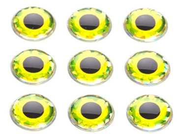 Bild på Epoxy Ögon Yellow
