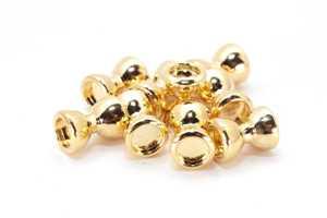 Bild på Dumbbell Eyes Gold (10-pack) 4mm