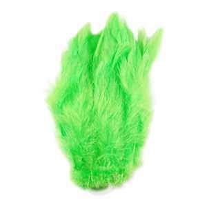 Bild på Schlappen (Lösa fjädrar från tuppnacke) Chartreuse