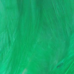 Bild på Lösa fjädrar från tuppsadel Green