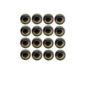 Bild på Fish Skull Living Eyes Earth 4mm (20st)