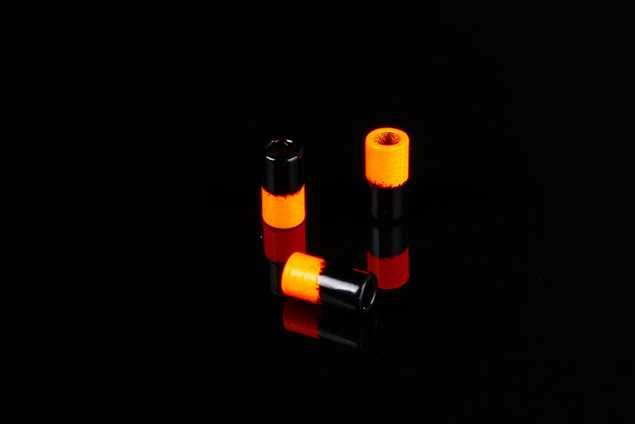 Bild på FutureFly AttiTubes Black/Fl.Orange (10-pack)