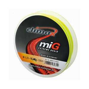 Bild på Climax miG Extreme Braid 135m 0,28mm / 25kg