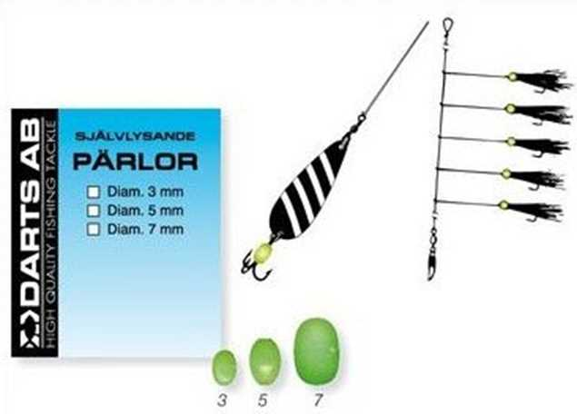 Bild på Darts Pärlor Lys (11-20 pack)