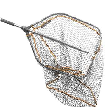 Bild på Savage Gear Pro Folding Rubber Large Mesh Landing Net