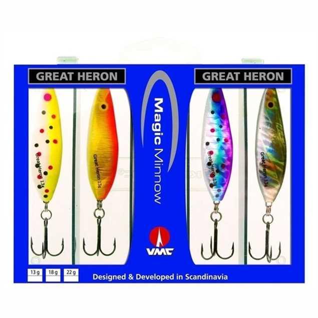 Bild på Westin Great Heron 13gr (4 pack)