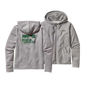 Bild på Patagonia Women's Soaring Logo Midweight Feather Grey