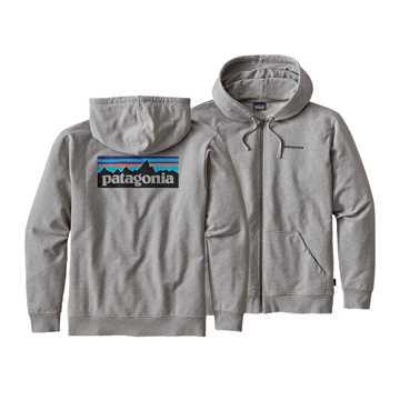 Bild på Patagonia P-6 Logo Full-Zip Hoody