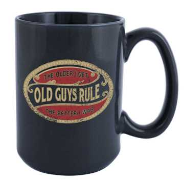 Bild på Old Guys Rule Kaffemugg