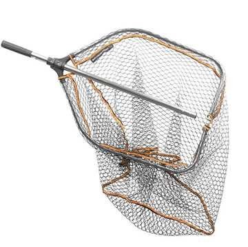 Bild på Savage Gear Pro Tele Folding Rubber Large Mesh Landing Net