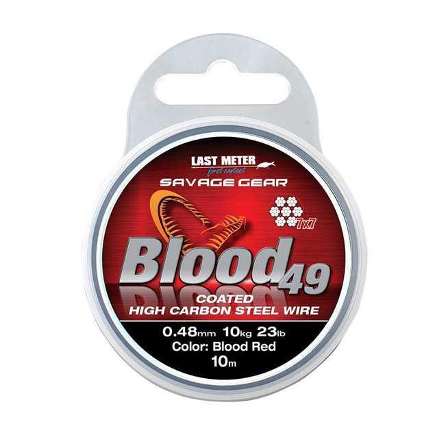 Bild på Savage Gear Blood 49 Coated 10m
