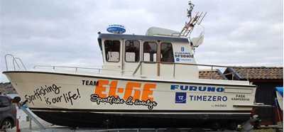 Team EL-GE Havsfiske | Sjösättning
