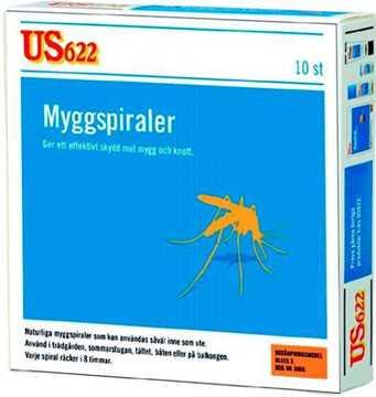 Bild på US622 Myggspiral