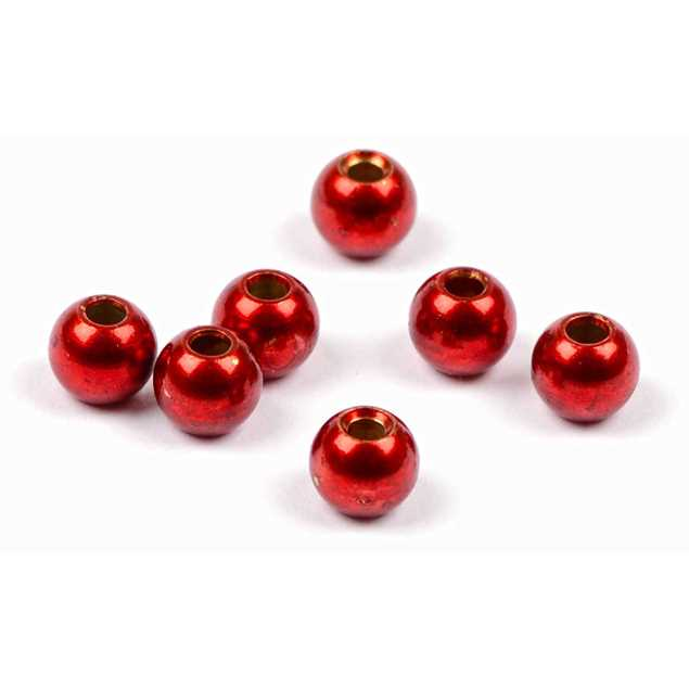 Bild på Darts Metal Bead Red 8mm (5-pack)