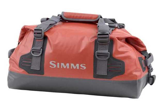 Bild på Simms Dry Creek Duffel Small Bright Orange