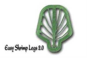 Bild på Easy Shrimp Legs 2.0 Transparent Dirty Green