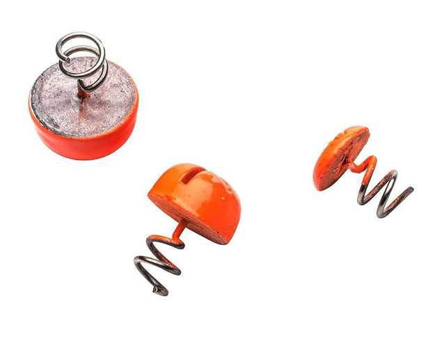 Bild på Svartzonker Screw-in-dots Fluo Orange (3 pack)