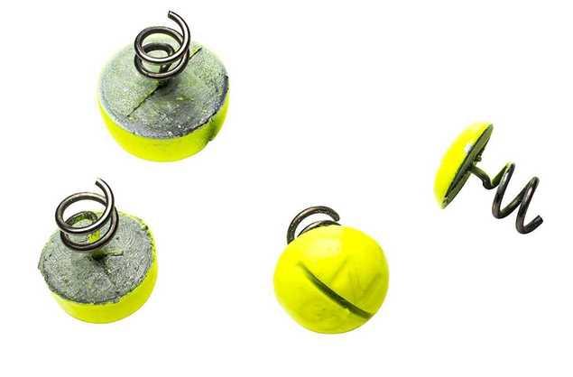 Bild på Svartzonker Screw-in-dots Fluo Yellow (3 pack)