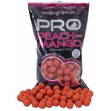 Bild på Starbaits Probio Boilies Peach & Mango 10mm (1 kg)