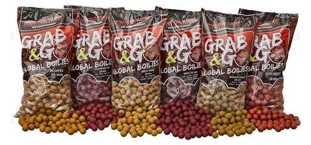 Bild på Starbaits Grab & Go Global Tigernut 20mm (2,5kg)
