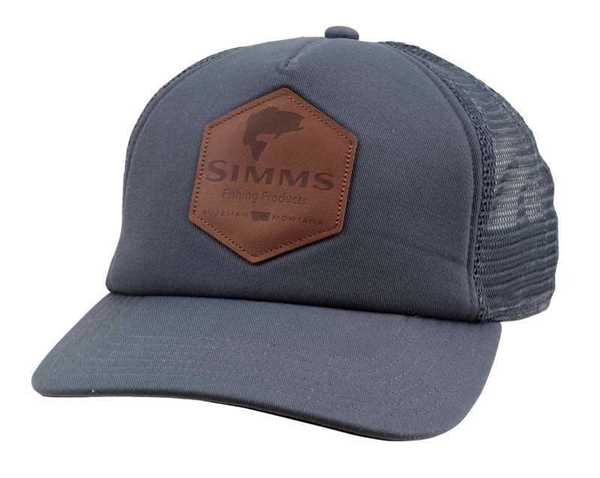 Bild på Simms Leather Patch Trucker (Anvil)