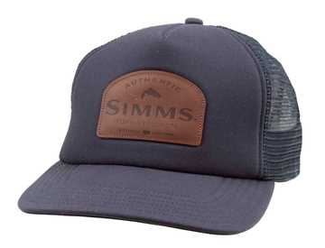 Bild på Simms Leather Patch Trucker (Admiral Blue)