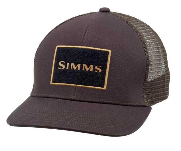 Bild på Simms High Crown Truckerkeps (Bark)