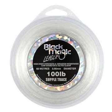 Bild på Black Magic Supple Trace 0,90mm / 100lbs 60m