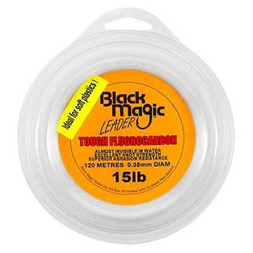 Bild på Black Magic Tough Fluorocarbon 0,35mm / 15lbs 120m