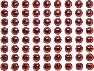 Bild på Behr Angelsport 3D-Fisheyes 6mm (120 pack) Red