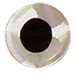 Bild på Fish Eyes Flat Holo 6mm (120 pack) Silver