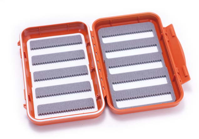 Bild på C&F Medium 10-Row WP Fly Case (CF-2555) Orange