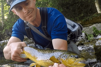 Fiskerapport från öringsån | Team Tim