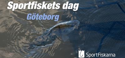 Vi finns med på Sportfiskets dag i Göteborg!
