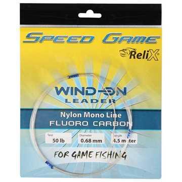 Bild på Relix Speed Game Wind-on Leader - Fluorocarbon