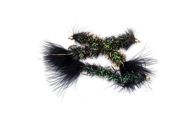 Bild på Borstmask Glitter Green #6