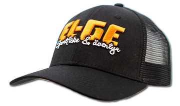 Bild på EL-GE Trucker Black Curve Brim