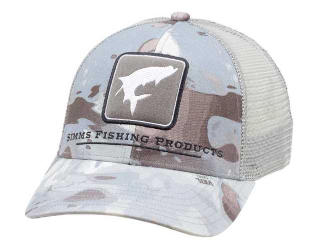 Bild på Simms Tarpon Trucker | Cloud Camo Grey