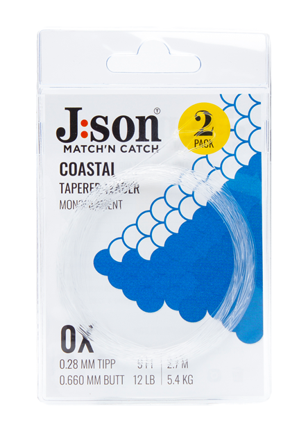 Bild på Json Coastal Seatrout Leader 9ft (2-pack)