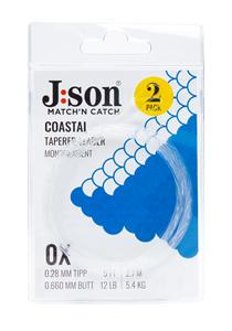 Bild på Json Coastal Seatrout Leader 12ft (2-pack) 0,28mm | 0X