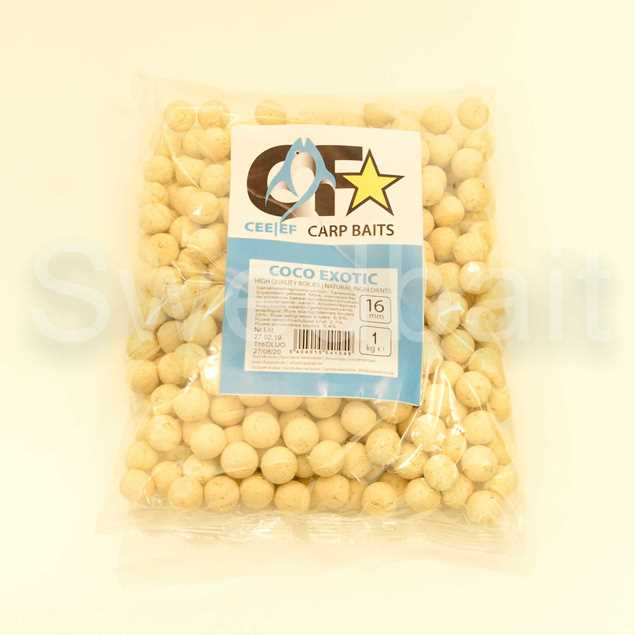 Bild på Champion Feed Carp Baits Boilies 16mm 1kg Coco Exotic