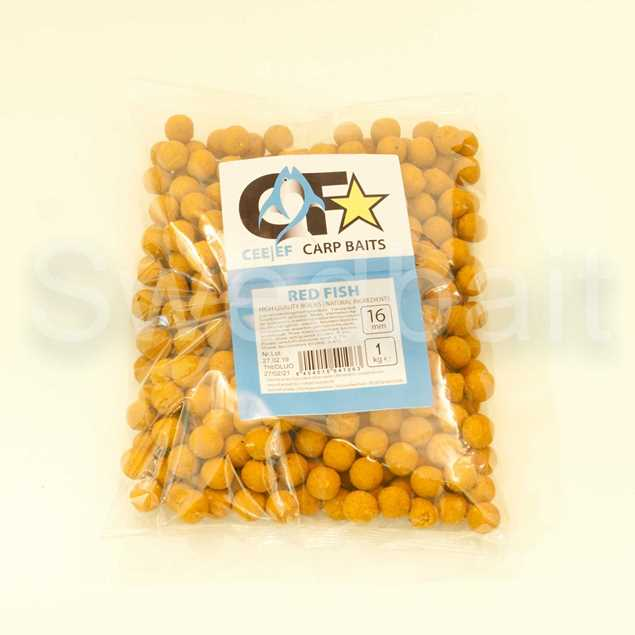 Bild på Champion Feed Carp Baits Boilies 16mm 1kg Red Fish
