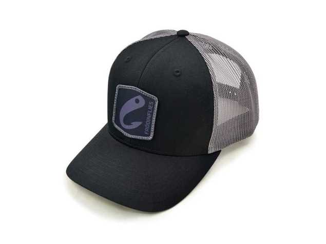 Bild på Frödin Black/Steel Grey 'Logo' Trucker Hat