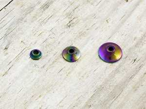 Bild på FITS Tungsten Turbo Cones (10-pack) Rainbow - Small