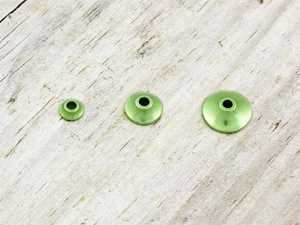 Bild på FITS Tungsten Turbo Cones (10-pack) Chartreuse Metallic - XS