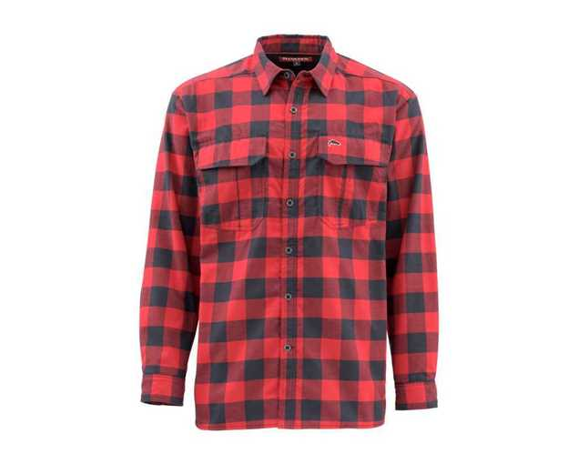 Bild på Simms ColdWeather Shirt (Red Buffalo Plaid)