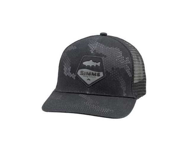 Bild på Simms Trout Patch Trucker (Hex Camo Carbon)